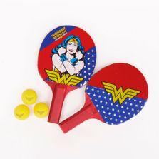 Par-de-Raquetes-de-Ping-Pong-e-Bolinha---DC-Comics---Mulher-Maravilha---Bel-Fix