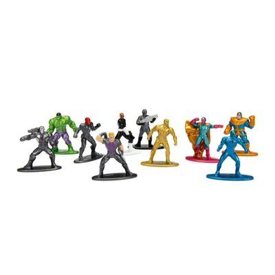 Conjunto-Colecionaveis-de-4-Cm---Metals-Nano-Figures---Marvel-Super-Heroes---10-Un---Serie-2---DTC