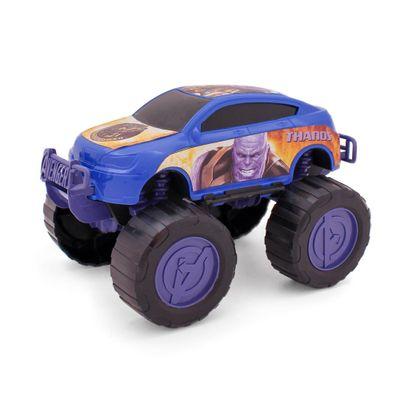 Carrinho-Roda-Livre---Monster-Car---Avengers---Thanos---Marvel---Toyng