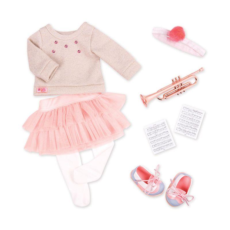 4dda7b5b7 Acessórios de Boneca - Our Generation - Roupas de Música - Ri Happy  Brinquedos