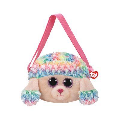 Bolsa-de-Pelucia---TY---Poodle-Colorido-Rainbow---DTC