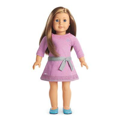 Boneca-e-Acessorios---American-Girl---Truly-Me---Cabelo-Castanho-Claro---Mattel