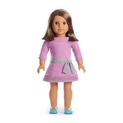Boneca-e-Acessorios---American-Girl---Truly-Me---Cabelo-Castanho-Curto---Mattel