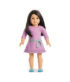 Boneca-e-Acessorios---American-Girl---Truly-Me---Cabelo-Castanho-Escuro---Mattel