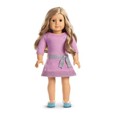 Boneca-e-Acessorios---American-Girl---Truly-Me---Cabelo-Loiro-Enrolado---Mattel