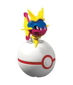 Blocos-de-Montar---Mega-Construx---Pokemon---Pokebola-e-Figura---Carvanha---Mattel