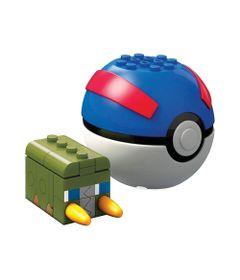 Blocos-de-Montar---Mega-Construx---Pokemon---Pokebola-e-Figura---Charjabug---Mattel