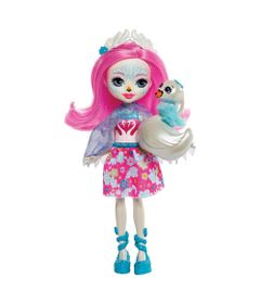 Boneca-Fashion-e-Animal---Enchantimals---Saffi-Swan-e-Poise---Mattel