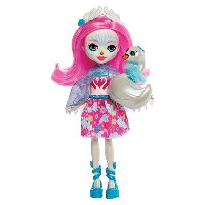 Boneca-Fashion-e-Animal---Enchantimals---Saffi-Swan-e-Poise---Mattel