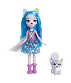 Boneca-Fashion-e-Animal---Enchantimals---Winsley-Wolf-e-Trooper---Mattel