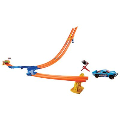 Pista-Hot-Wheels---Desafio-Queda-Dupla---Mattel