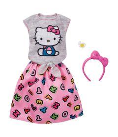 Roupinhas-e-Acessorios---Barbie---Hello-Kitty---Blusa-e-Saia---Mattel