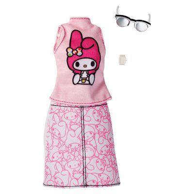 Roupinhas-e-Acessorios---Barbie---My-Melody---Mattel