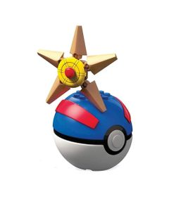 Blocos-de-Montar---Mega-Construx---Pokemon---Pokebola-e-Figura---Staryu---Mattel