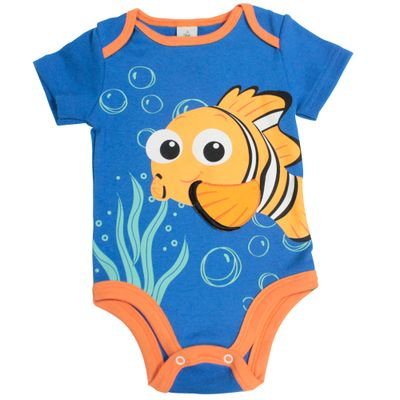 Fantasia-Infantil---Body---Manga-Curta---Procurando-Nemo---Nemo---Disney