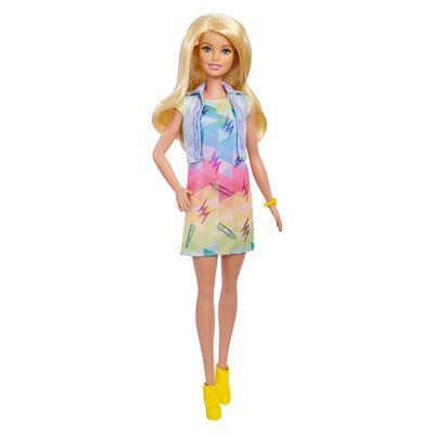 Boneca-Barbie---Barbie-Criacoes-com-Carimbos---Mattel