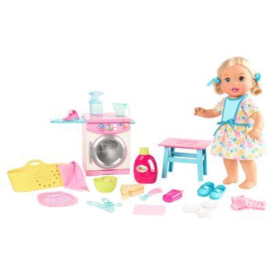 Boneca-Bebe---Little-Mommy---Hora-de-Comer-e-Lavar---Mattel
