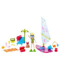 Boneca-Polly-Pocket-e-Acessorios---Veiculo-Aquaticos---Polly-e-Vela---Mattel