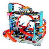 Pista-e-Veiculo---Hot-Wheels---City---Mega-Garagem---Mattel
