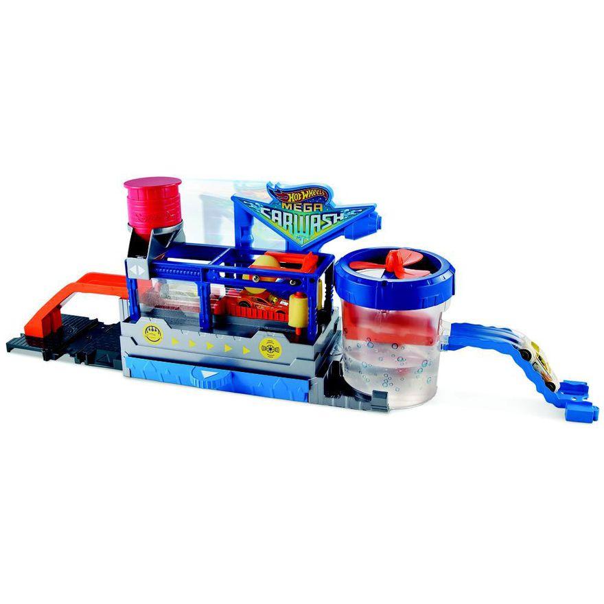 Pista-e-Veiculo---Hot-Wheels---Mega-Lava-Rapido---Mattel