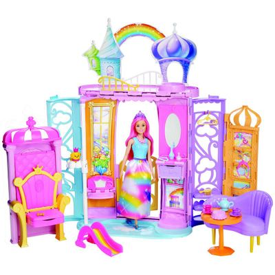 Playset-e-Boneca---Barbie---Dreamtopia---Castelo-Arco-iris---Mattel