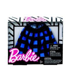 Roupinhas-e-Acessorios---Barbie---Saia-Xadrez-Longa---Mattel_Frente