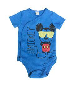 Body-Manga-Curta-em-Suedine---Azul---Mickey-Mouse---Disney---G