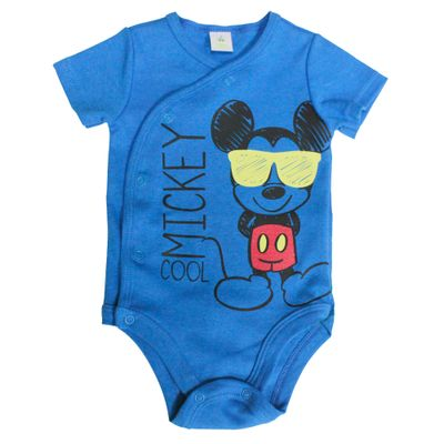 Body-Manga-Curta-em-Suedine---Azul---Mickey-Mouse---Disney---M