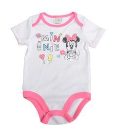 Body-Manga-Curta-em-Suedine---Branco-e-Rosa---Minnie-Mouse---Disney---M