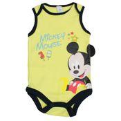Body-Regata-em-Suedine---Amarelo-Claro---Mickey-Mouse---Disney---P