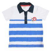 Camisa-Polo-Manga-Curta---Branco-e-Azul-Marinho---Mickey-Mouse---Disney---3