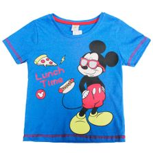 Camiseta-Manga-Curta---Azul---Metal-Mickey-Mouse---Disney---1