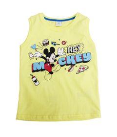 Regata-Meia-Malha---Amarelo-Claro---Mickey-Mouse---Disney---1