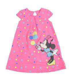 Vestido-em-Cotton---Estampado---Rosa---Minnie-Mouse---Disney---1