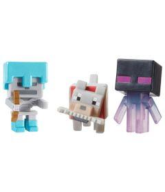 Figuras-Minecraft---Pack-com-3---Serie-5-Gelo---Enderman---Esqueleto---Lobo---Mattel