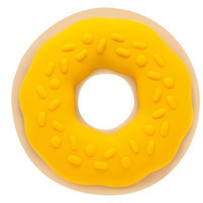 Mordedor-com-Texturas---Docinhos---Rosquinha-Amarela---Toyster