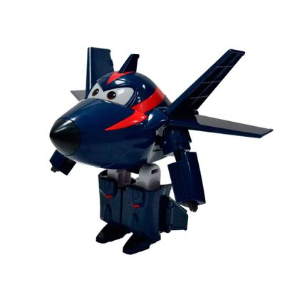 Aviao-Super-Wings---12-cm---Agent-Chace---Intek