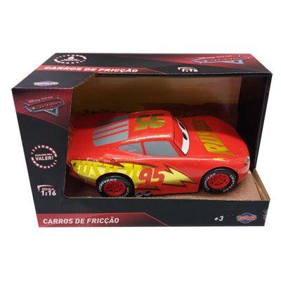 Carrinho-de-Friccao---Disney---Pixar---Cars-3---Relampago-McQueen---Vermelho-e-Dourado---Toyng