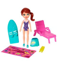 Playset-e-Mini-Boneca-Polly-Pocket---Parque-Aquatico---Lila---Mattel