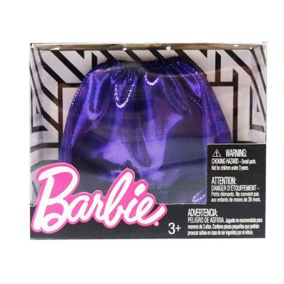 Roupinhas-e-Acessorios---Barbie---Saia-Roxa-Lisa---Mattel