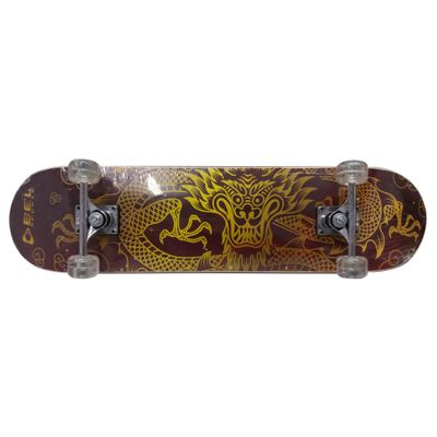 Skate---Skateboard---Semi-Pro---Dragao-Oriental---Bel-Sports---Bel-Fix