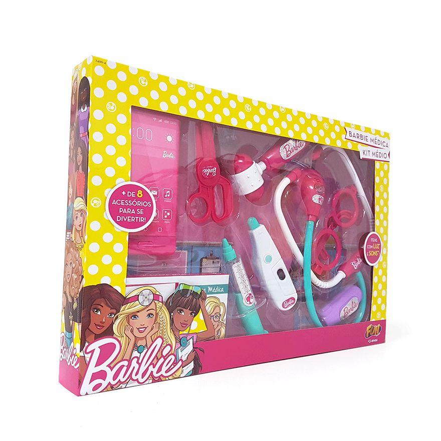 Kit-de-Medico-Barbie---Barbie-Medica---Fun
