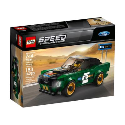LEGO-Speed-Champions---1968-Ford-Mustang-Fastback---75884