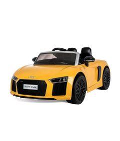 Veiculo-Eletrico-com-Controle---12V---AUDI---R8-Spyder---Amarela---Bandeirante