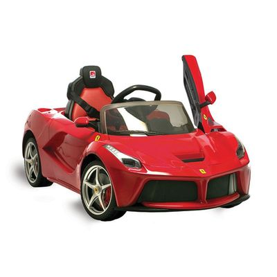 Veiculo-Eletrico-com-Controle---12V---Ferrari---La-Ferrari---Vermelha---Bandeirante