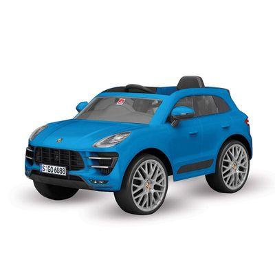 Veiculo-Eletrico-com-Controle---12V---Porsche---Mecan---Azul---Bandeirante