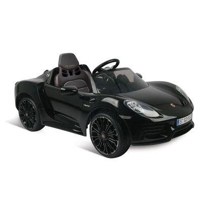 Veiculo-Eletrico-com-Controle---12V---Porsche---Spyder---Preto---Bandeirante