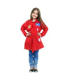 Fantasia Infantil - DPA - Detetives do Prédio Azul - Vermelho - Sulamericana