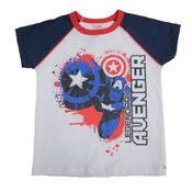 Camiseta-Manga-Curta---Meia-Malha---Branco-Azul-e-Vermelho---Marvel---Capitao-America---Disney---4