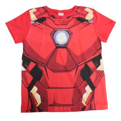 Camiseta-Manga-Curta---Meia-Malha---Vermelho---Marvel---Iron-Man---Disney---6